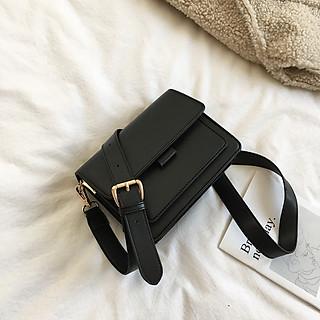 Túi đeo chéo nữ thời trang phong cách vintage – Túi hộp đeo chéo da PU chống nước – Phụ kiện không thể thiếu khi bạn xuống phố - TA321