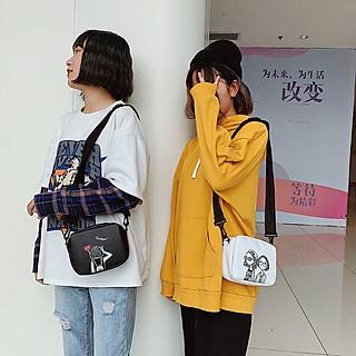 Túi Nữ Đeo Chéo Mini Hình Cô gái Hàn Quốc BT50 Thời Trang