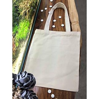Combo 10 túi vải bố trơn không khóa kéo