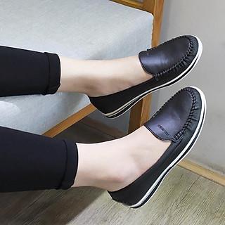 Giày bệt da bò nữ siêu êm chân