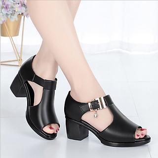 Giày Sandal nữ quai gài, phong cách trẻ trung năng động  SAD115