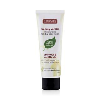 Sữa Dưỡng Thể Hương Kem Vani Moisturizing Hand & Body Lotion Creamy Vanilla Scentuals (125ml)