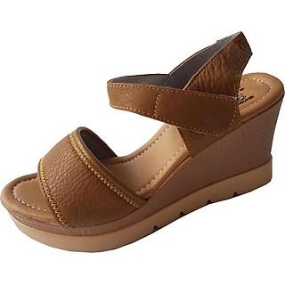 Giày Sandal Xuồng Nữ Da Bò BIGGBEN Cao Cấp SDX10