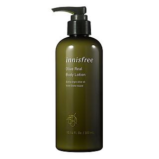 Sữa dưỡng ẩm toàn thân hương ô liu innisfree Olive Real Body Lotion 131171103 (300ml)