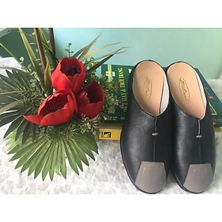 Giày sabo nữ thời trang da bò cực chất