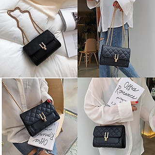 Túi đeo chéo nữ 3 ngăn trần trám bút chì – Túi nữ đeo chéo da PU chông thấm cao cấp – Phụ kiện không thể thiếu của các bạn nữ - TA0417