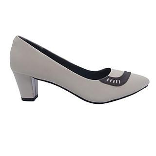 Giày Cao Gót  Nữ Đê Vuông 5P Form Chuẩn Êm Chân |  Giày Công Sở Nữ Đẹp Cao Cấp Chất Lượng GMIC- NH621