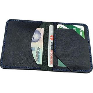 Ví da mini cầm tay-ví đựng thẻ ATM da bò Ý