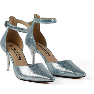 Giày dây cao gót nữ Vina-Giầy UES.J0018DA-BL