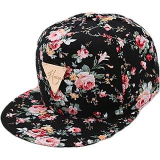 Mũ nón lưỡi trai snapback nữ SB29 hoa hồng
