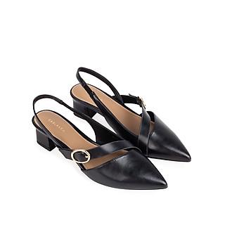 Sandal cao gót mũi nhọn phối belt trang trí - Sablanca 5050SN0128