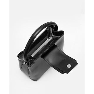 Túi da thật Kat - JILL - Màu đen
