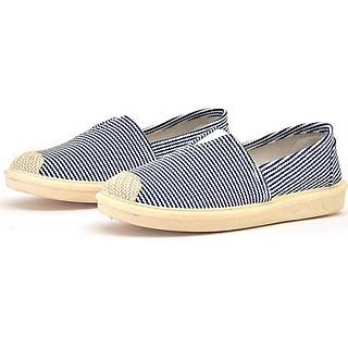 Giày lười vải đế cao su siêu êm chân kiểu dáng Hàn Quốc GL2