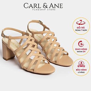 Giày sandal chiến binh thời trang nữ Erosska gót cao 7cm CS001