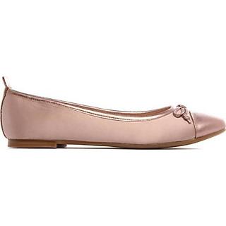 Giày Búp Bê Nơ Xinh Màu Hồng Ánh Kim | Búp bê xuất khẩu Pháp