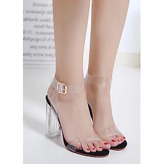 Giày sandanl cao gót trong 9f