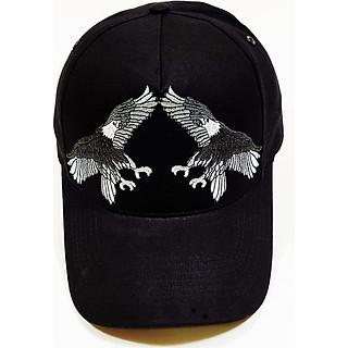 Nón kết/ Mũ lưỡi trai kaki nam nữ cá tính thêu hình chim đại bàng NON0237 Lorganic