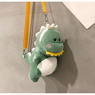 Túi đeo chéo hình thú bông khủng long - DMA store