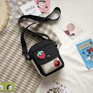 Túi vải canvas đeo chéo túi tote đựng điện thoại  TV010