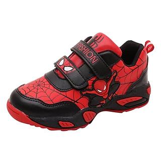 Giày Siêu Nhân Người Nhện Spiderman Bé Trai 3 - 10 Tuổi GA18 - Đỏ