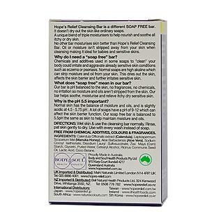 Thanh rửa mặt Hope's Relief cho da khô ngứa, eczema, viêm da, vảy nến (110g)