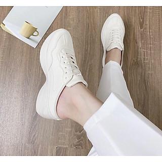 Giày sục nữ nâng đế 5cm cao cấp