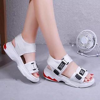 Giày Sandal nữ quai dán cá tính, năng động -  SD69