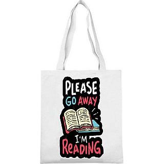 Túi tote túi xách in hình đi học nhỏ gọn tiện lợi