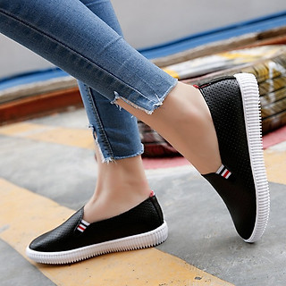 Giày lười nữ đế bệt
