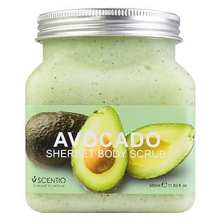 Tẩy Tế Bào Chết Toàn Thân Dưỡng Ẩm Làm Sáng Và Chống Lão Hoá Da Beauty Buffet Scentio Avocado (350ml)
