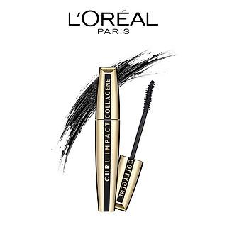 Mascara làm cong và dày mi L'Oreal Paris Vol Collagene 11ml