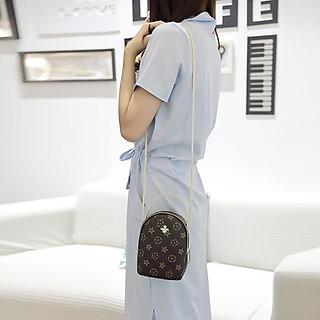 Túi đeo chéo đựng điện thoại 2 ngăn