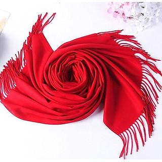 khăn len choàng cổ nam nữ dài mềm mại giữ ấm tốt