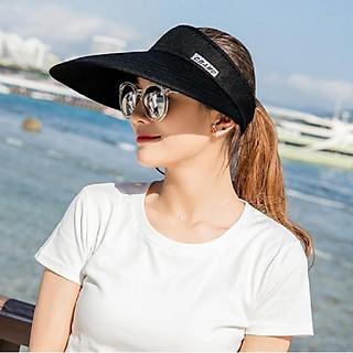 Mũ rộng vành chống nắng nửa đầu thời trang Nón chống nắng nữ cao cấp