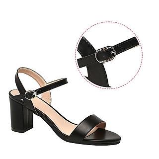 Giày sandal nữ cao gót 5cm thời trang 2020  đầy duyên dáng