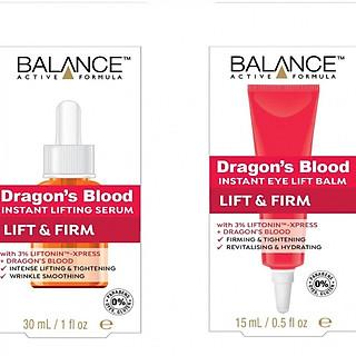 Bộ serum dưỡng da và kem dưỡng vùng mắt Balance Dragon Blood