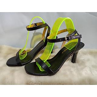 Giày sandals cao gót nữ  7cm thời trang phong cách trẻ  MH721 màu đen