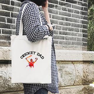 Túi Vải Đeo Vai Tote Bag In họa tiết Dế bố