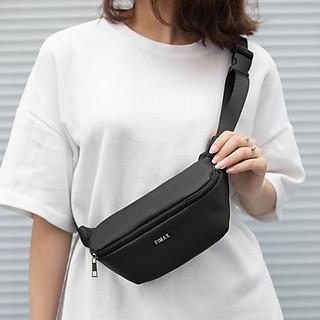 Túi bao tử đeo trước ngực unisex Fimax, dạng túi đeo chéo thời trang nhỏ gọn cho cả nam và nữ được làm từ vải oxford chống nước