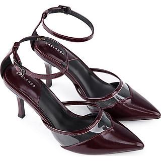 Giày sandal cao gót phối nhựa trong suốt - Sablanca 5050SN0106