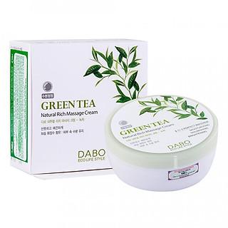 Kem Mát xa Dabo Green Tea Massage Cream 200ml