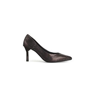 Giày cao gót nữ da vẩy rắn mũi nhọn quyến rũ thời trang cao 7cm thương hiệu PABNO PN429
