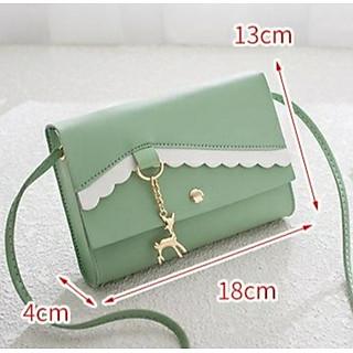 Túi đeo nữ nhỏ xinh, móc khóa nai dễ thương TK0038