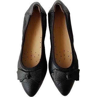 Giày Búp Bê BIGGBEN Da Bò Thật Cao Cấp BB35