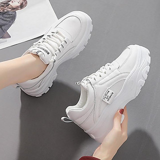 Giày Nữ Thể Thao Sneaker Đế Cao 5CM