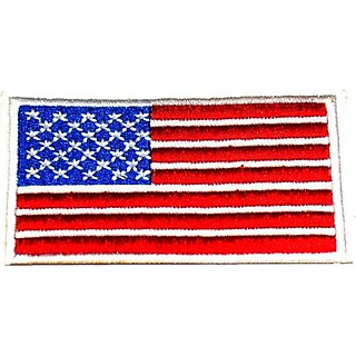 Patch ủi sticker vải - Cờ Mỹ