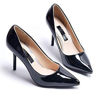 Giày cao gót da bóng Merly 1182