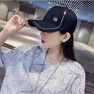 Mũ Nón lưới trai nữ logo chữ M sang trọng