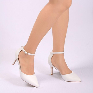 Sandal tiểu thư gót 7cm quai hậu cách điệu xinh xắn V017113