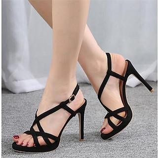 sandals  cao gót nữ S58